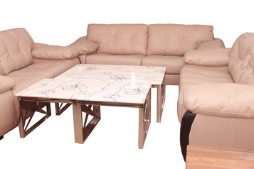 buy Napoli 7 Seater Leather Sofa