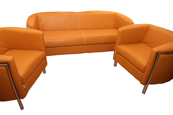 buy Siene 5 Seater Leather Sofa Set