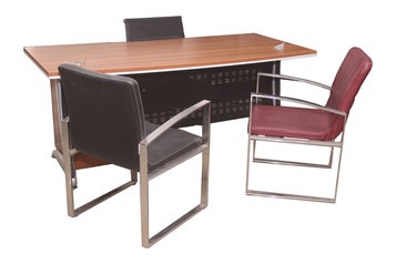 buy Alibert Office Desk with Drawer Box