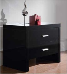 Black highgloss night stand.index