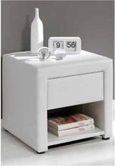 White leather night stand.index