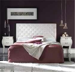 Alma white bed.index