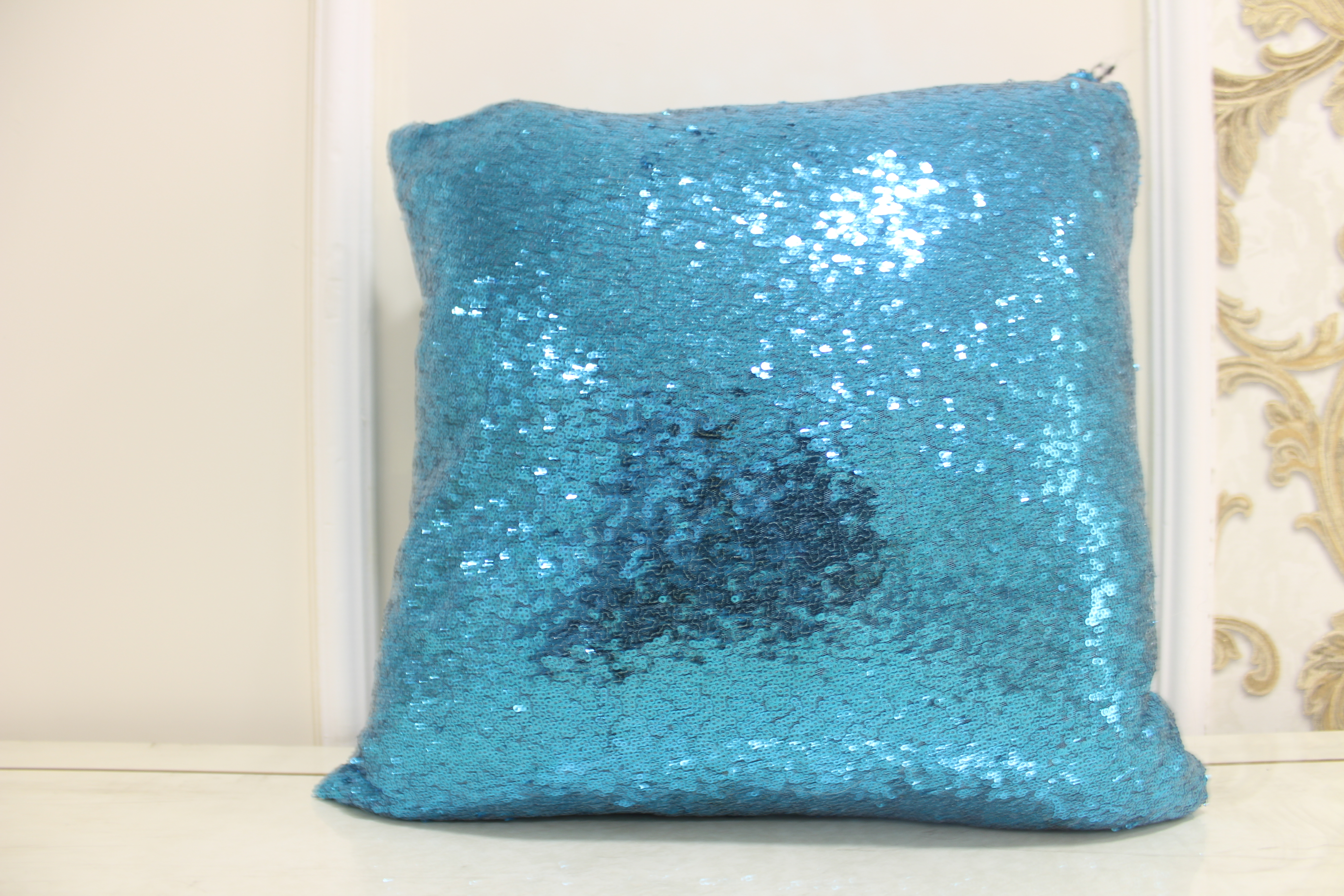 walmart teal homes ip ombre pillows sequin com gardens and pillow better