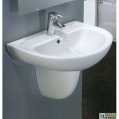 Space wall pedestal basin 60 cm.index