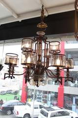buy Antique 8 Light Chandeliers - A2423CG/8+4