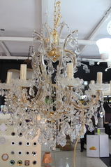 buy Crystal 23 -Gold chandelier - 6023