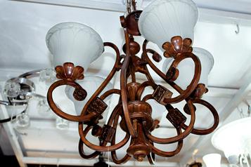buy Bronze 2  chandelier  - 13562/2