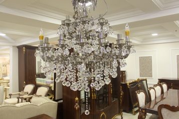 buy Grand Serilda Silver Indoor Chandelier