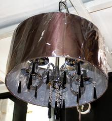 buy Drum 4  Light Chandelier - 8001