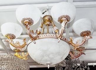 buy Royal 9  Light chandelier  - 05271/6+3