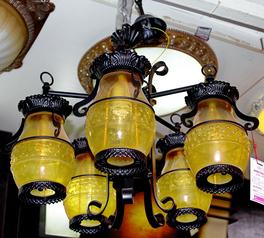 buy Castle 5  Light chandelier - 55455/59