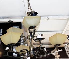 buy Silver base 9   Light chandelier - 04682/6+3