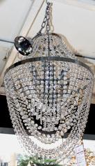 buy Silver Stone 8  Light Chandelier - MD 6005/8 Gold