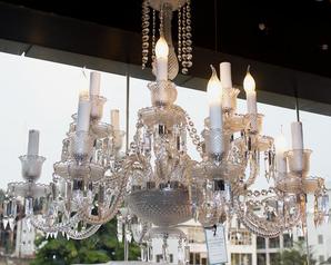 buy Crystal Light 4  Light  Chandelier  - 13565