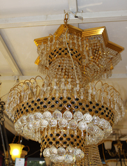 buy Crystal Gold 3- chandelier - 132416/600A