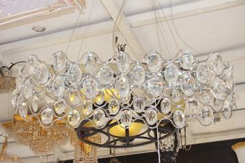 buy Crystal pendant light - 29071CR/19E