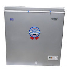 Haier thermocool small chest freezer htf 146 silver.index