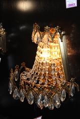 buy Crystal Wall Lamp Gold - 81763/3A