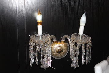 buy Crystal Wall Light - MB6033/2