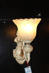 buy La'luna Antique Royal Wall Light - A04605WG/1