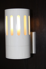 buy White Outdoor Lamp - B2044/WH