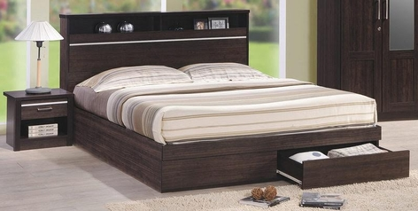 buy Y.Alade Queen Size Bed + 2 Bedsides