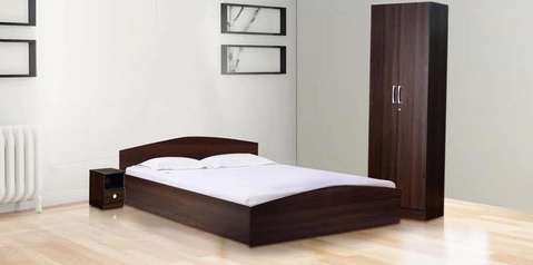 buy Chidinma Queen Size Bed + 2 Bedsides