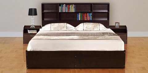 buy Omawumi Queen Size Bed + 2 Bedsides