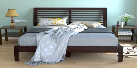 buy C. Morgan Queen Size Bed + 2 Bedsides