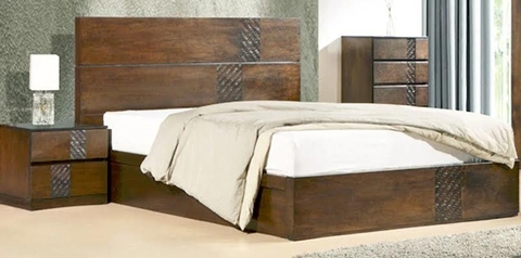 buy Simi Queen Size Bed + 2 Bedsides