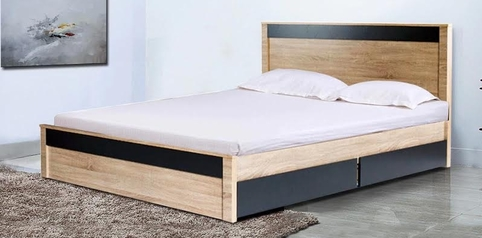 buy Nneka Queen Size Bed + 2 Bedsides