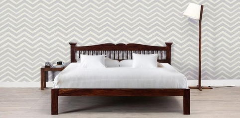 buy Di'ja Queen Size Bed + 2 Bedsides