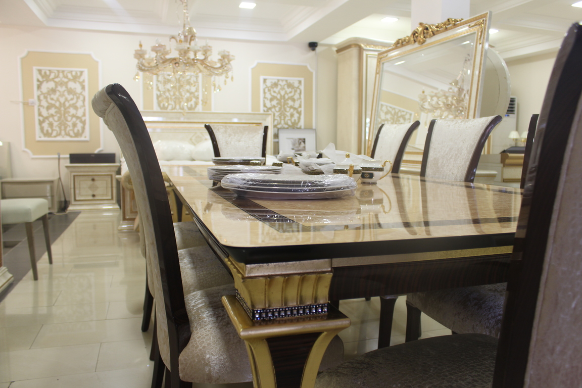 Luxe Complete Dining Set in Nigeria - Lagos - Abuja