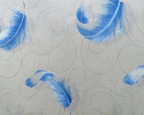 Blue feather uarting wallpaper vn291103.index