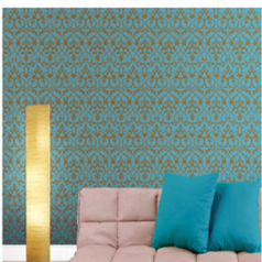 Uarting damask design wallpaper 1.index
