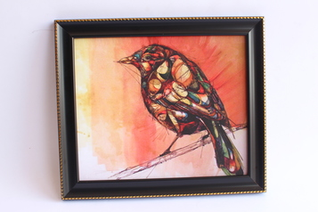 buy Colorful Bird Art 12x15