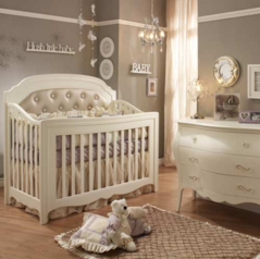 Baby crib with pad.index