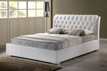 buy Crown Padded Bed with Buttons     -17E24.011
