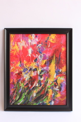 buy Colorful Abstract Art 12x18