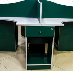 buy Orus Royal Green Top Folkstone Workstation