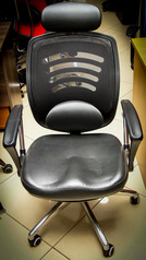 buy TOS A/2010 Mesh/Leather Revolving Chair