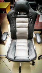 buy Leather Executive Swivel Chair TOS A/2525