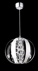 buy Steel Globe Pendant Light-D1211