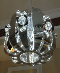 buy Silver Corral Steel Pendant Light-D1248