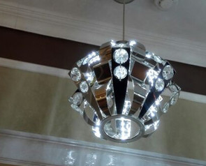 buy  Crown Steel Pendant Light-D1256