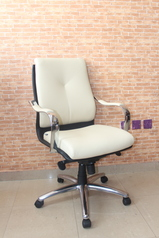 buy Cream Office Single Chair 06