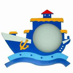 buy Blue Pirate Ship wall Lamp-MB915-1