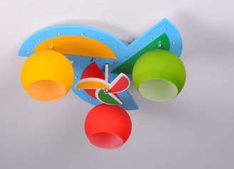 buy 3 colored Round Ceiling Light-MD1230-3