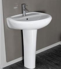 Eet002 eti basin 60cm with full pedestal. %28n30 150.00%29.index