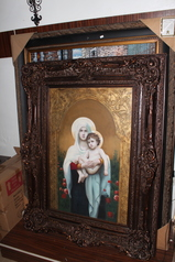 buy Mary & Jesus Wall Painting  4.3ft by 3.3ft